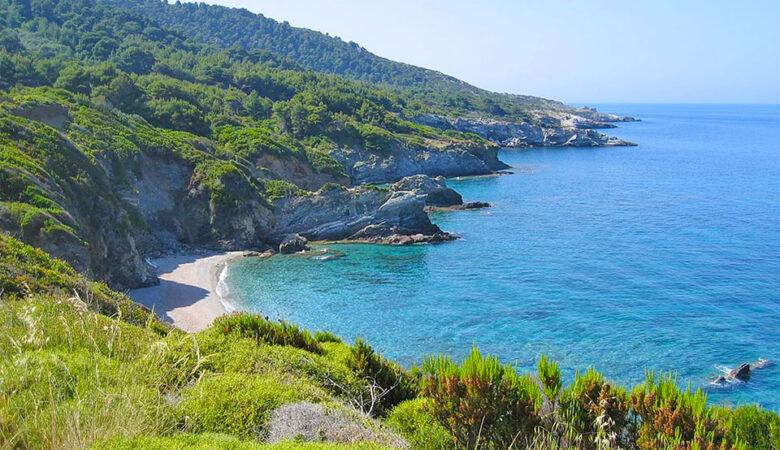 Perivoliou Beach - Skopelos island